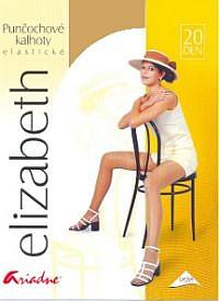 Rajstopy ELIZABETH - gładka lycra - kolor ciała