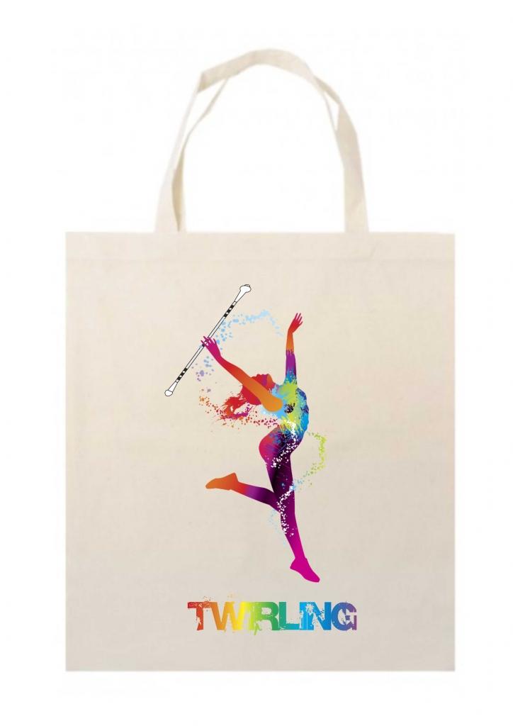 Ekologiczna torba na ramię - Twirling
