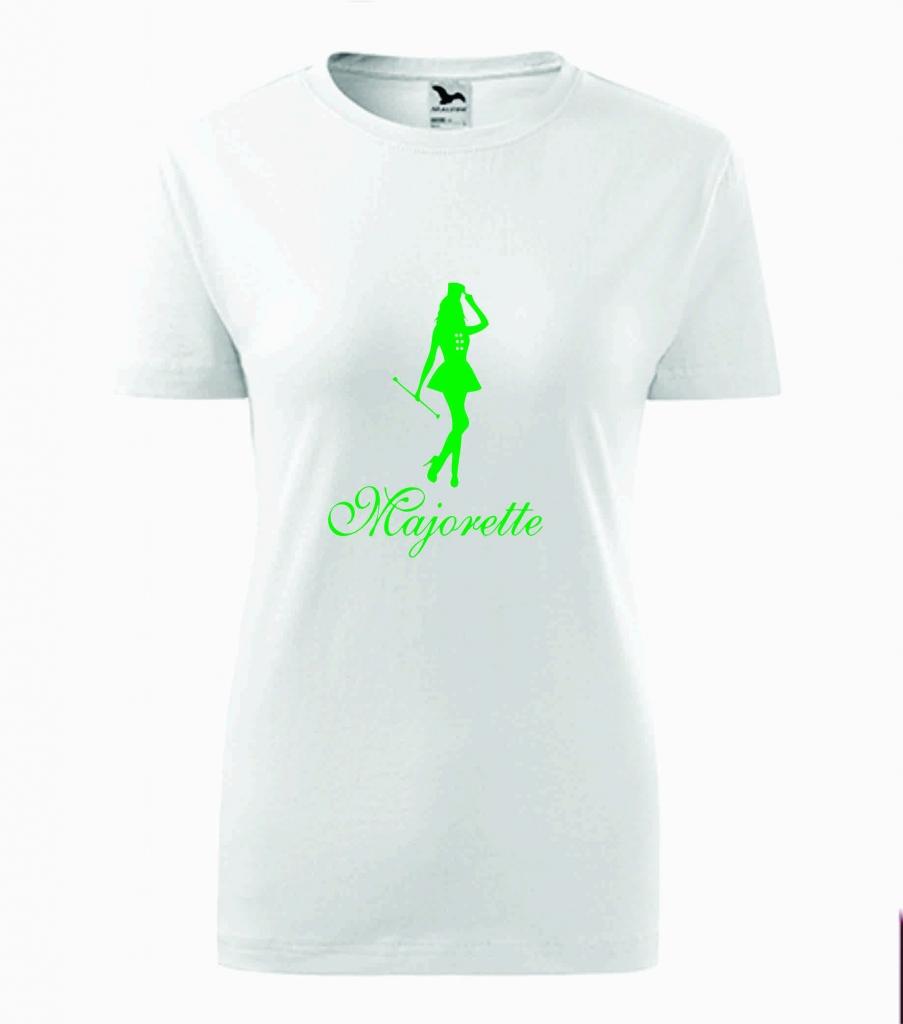 Dziecięca biała koszulka Majorette