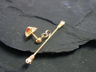 Brożka pałeczka - złota