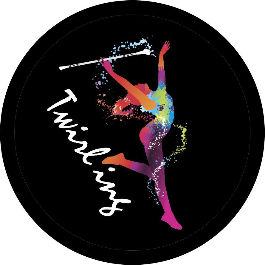 Odznaka - button - twilirng czarny