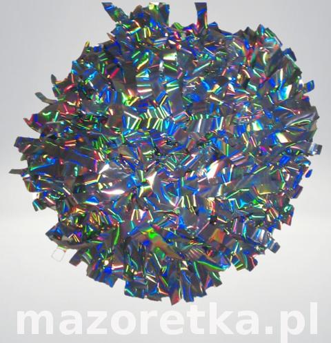 Pompon holograficzny, laser