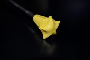 Zapasowa końcówka na pałeczkę MISTRAL żółta