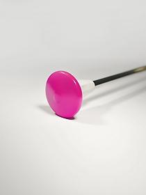 Ochronne końcówki na pałeczkę - różowe