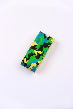 Owijka na pałeczkę MASKUJĄCA - zielono-żółta