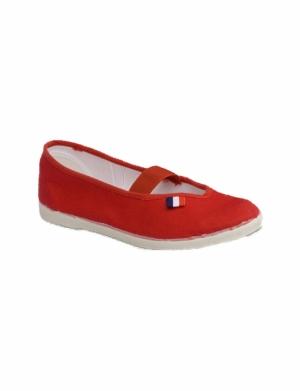 Tenisówki-Jarmiłki , kolor czerwony