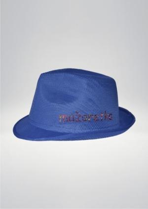 Kapelusz -niebieski