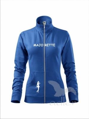 Rozpinana bluza damska - MAJORETTE niebieska