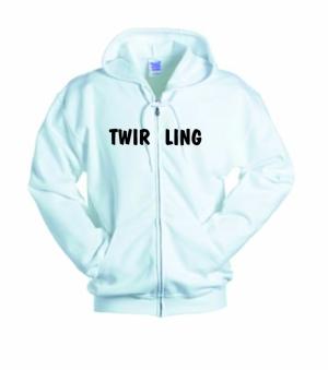 Biała bluza damska TWIRLING