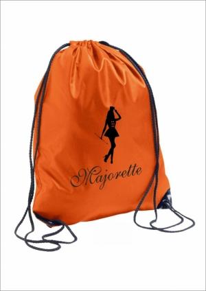 Plecak TRENDY, pomarańczowy - Majorette