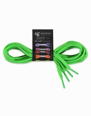 Sznurowadła długość 155cm. neon-zielony