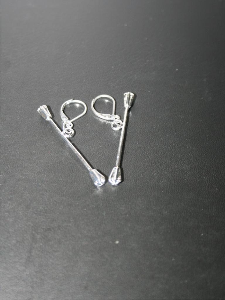 Náušnice s hůlkami klasik
