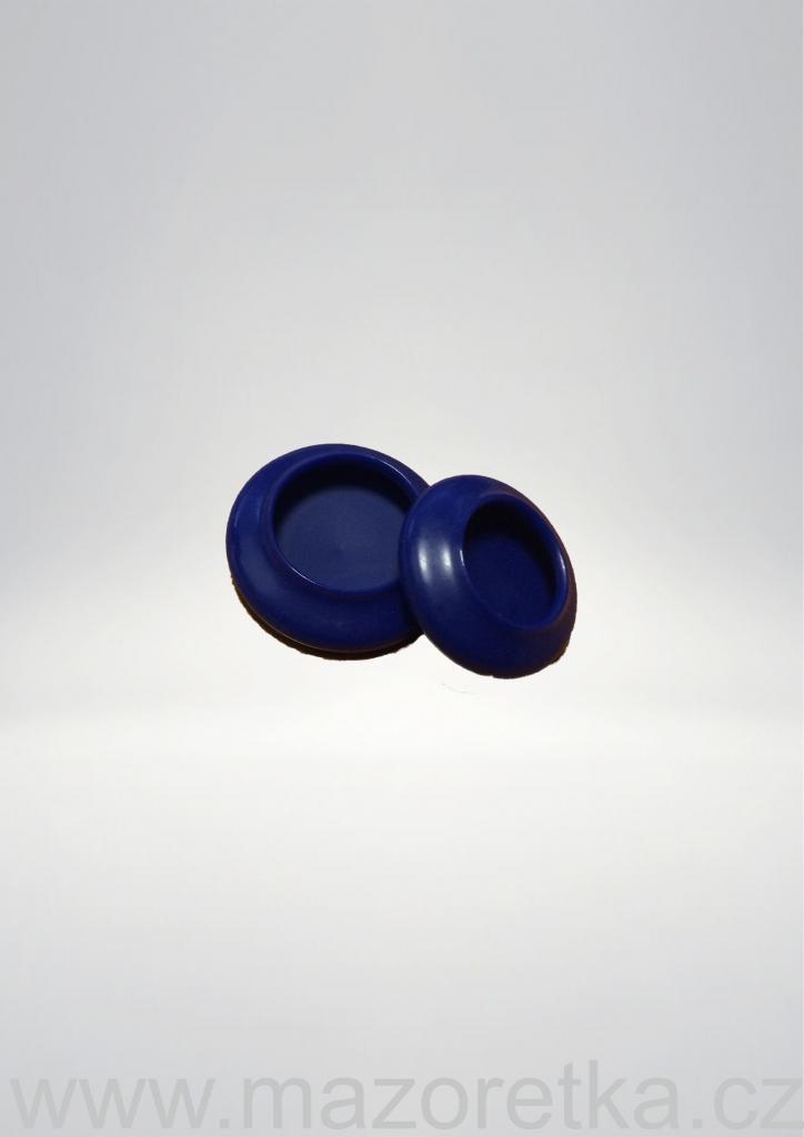 Ochronne końcówki na pałeczkę - niebieskie