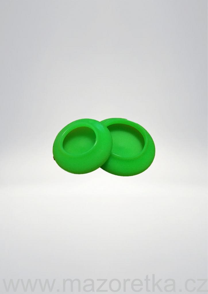 Ochronne końcówki na pałeczkę - zielone