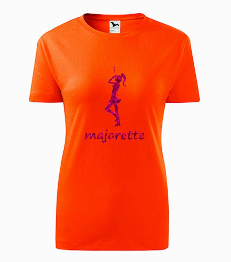 Dziecięca pomarańczowa koszulka Majorette
