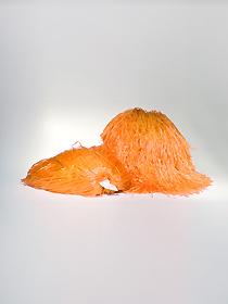 Pompon jednokolorowy - pomarańczowy
