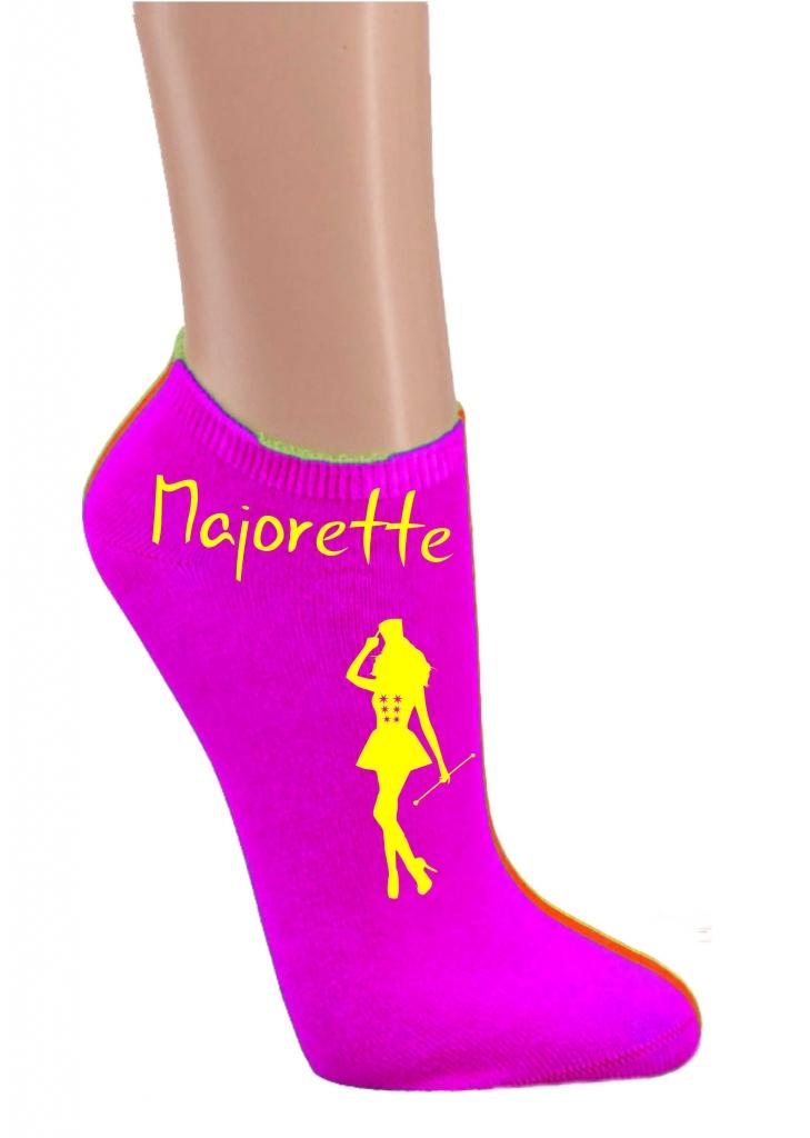 Skarpetki stopki - fioletowe majorette
