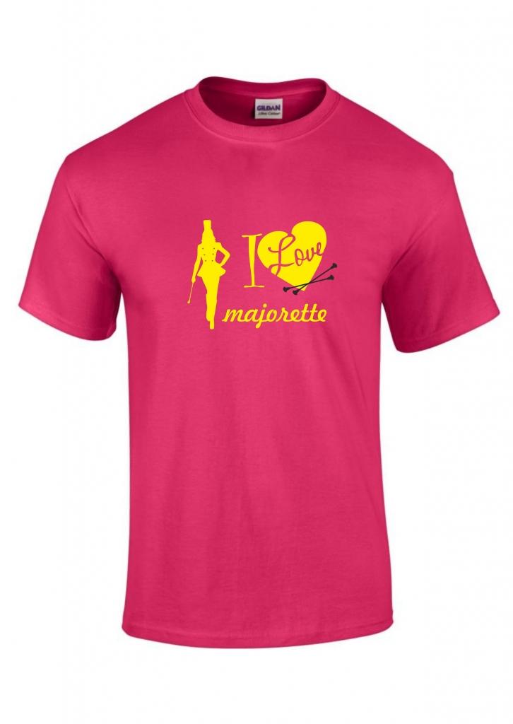 Koszulka dziecięca różowa Majorette