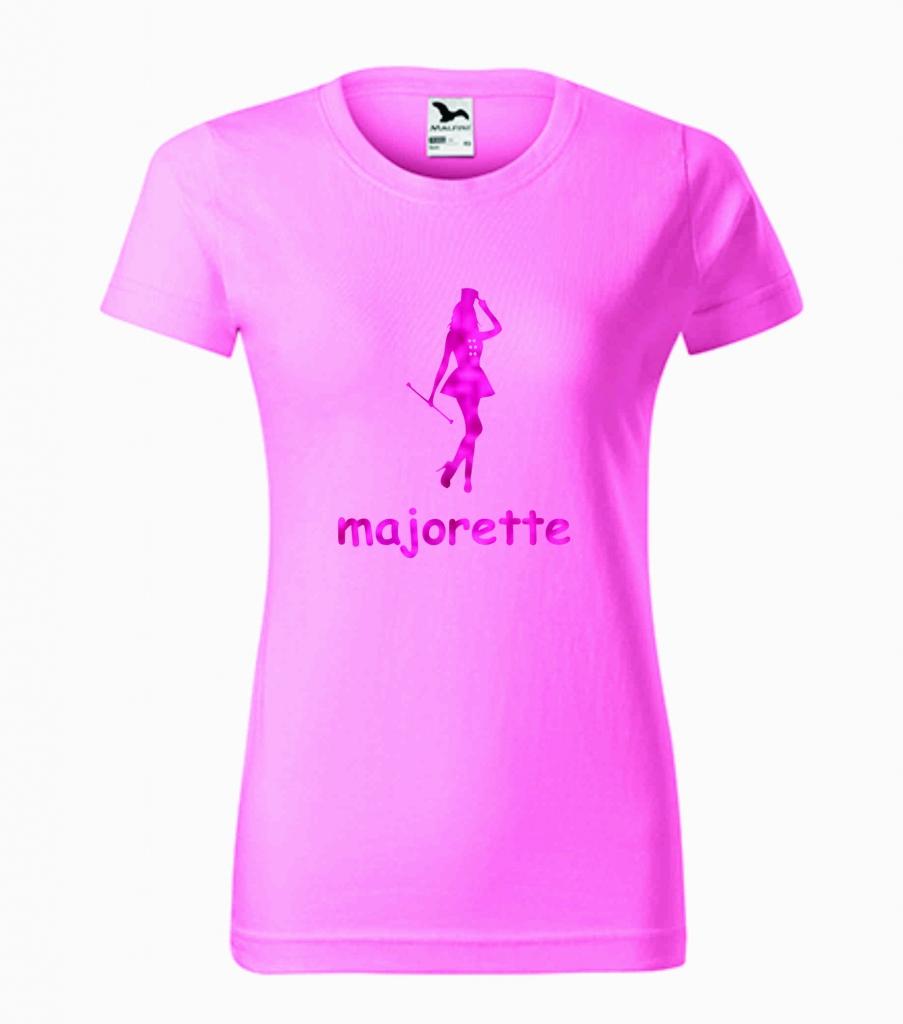 Dziecięca różowa koszulka Majorette