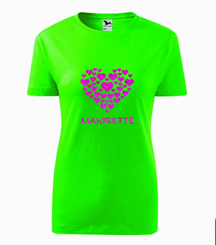 Dziecięca zielona koszulka Majorette