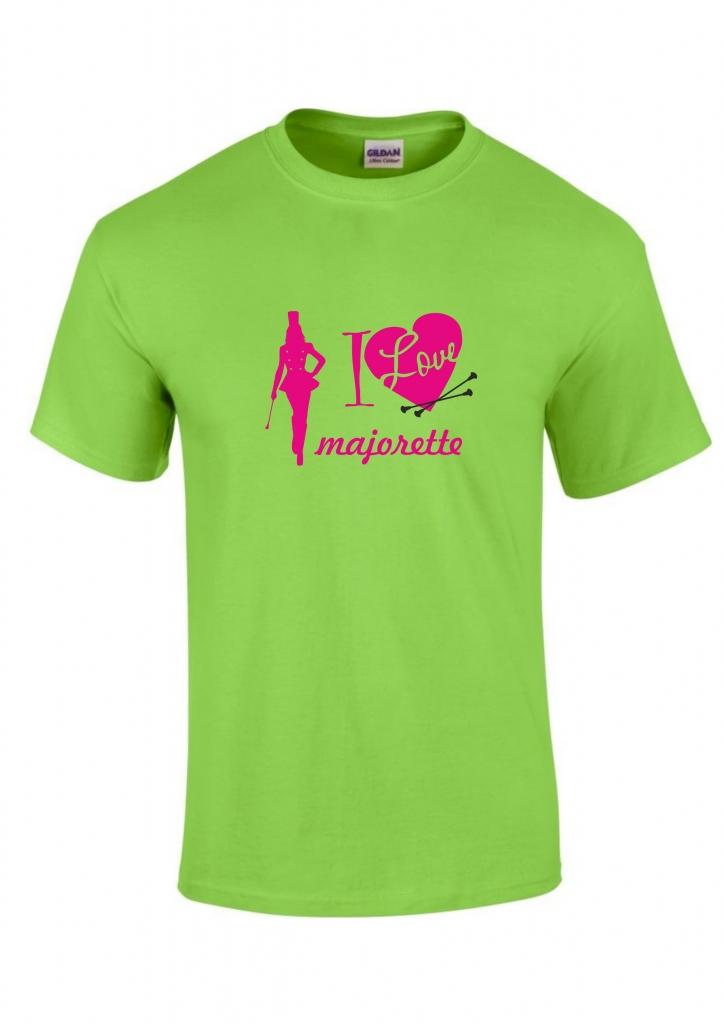 Koszulka dziecięca zielona Majorette