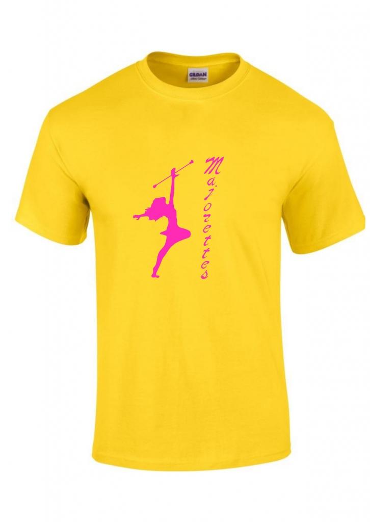 Koszulka dziecięca żółta Majorette